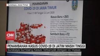 Penambahan Kasus Covid-19 di Jatim Masih Tinggi