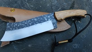 Download Video big chopper by MDV knives  italian  table top review MP3 3GP MP4