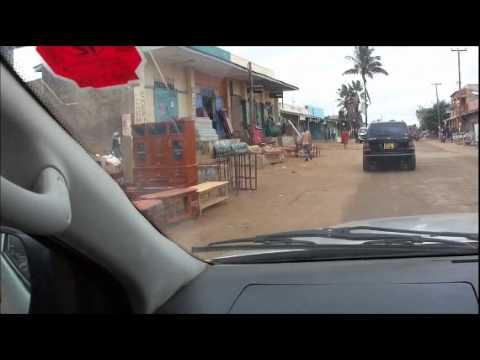 A drive across Kitui Town, Kenya