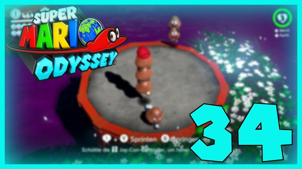 Super Mario Odyssey Part 34: Schafe hüten extreme!