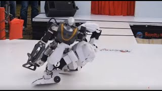 Robot Wrestling Is For Real Men