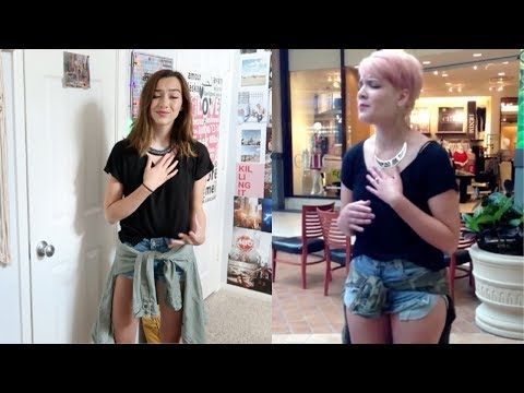 Impersonating That Video Of Halsey Singing Blink182 In A Mall
