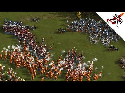 Cossacks 3 - 2v2v2 RAZED | Multiplayer Gameplay