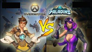 Overwatch Vs Paladins - Qual o melhor jogo?