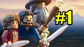 Смотреть Лего Хоббит прохождение #1