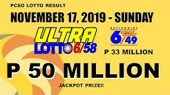 9PM PCSO LOTTO RESULT (SUNDAY) (NOVEMBER 17, 2019) 3D Swertres 2D EZ2 STL PARES SWER3 SWER2