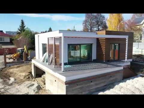 Современный дом Альфа 154 от Компании Технология