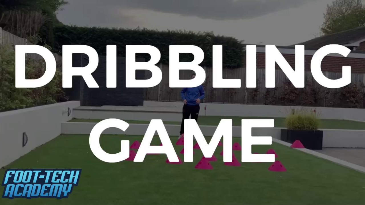 Dribbling Game For 4-6 Year Olds