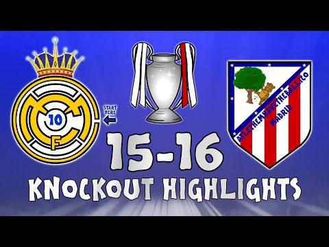 MONTAGE! Champions League Knockout Round 2016 (Real Madrid and Atletico Madrid)