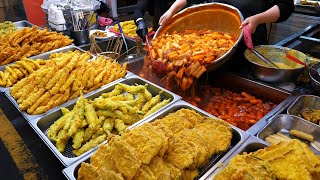 Amazing handmade fries sold 10,000 a day !? / spicy rice cake Tteokbokki / korea street food