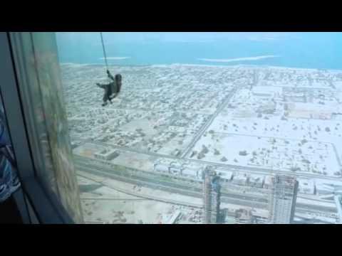 Tom Cruise Mission Impossible Ghost Protocol Burj Khalifa Youtube