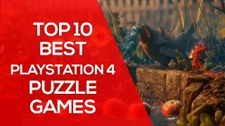 Top 10 Best Playstation 4 Puzzle Games to Boost Creativity