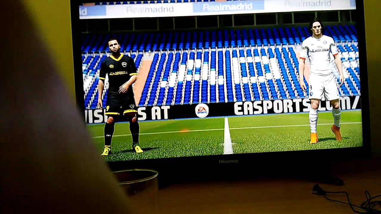 Jugando Por Primera Vez Al Fifa 16 Play 4 Youtube