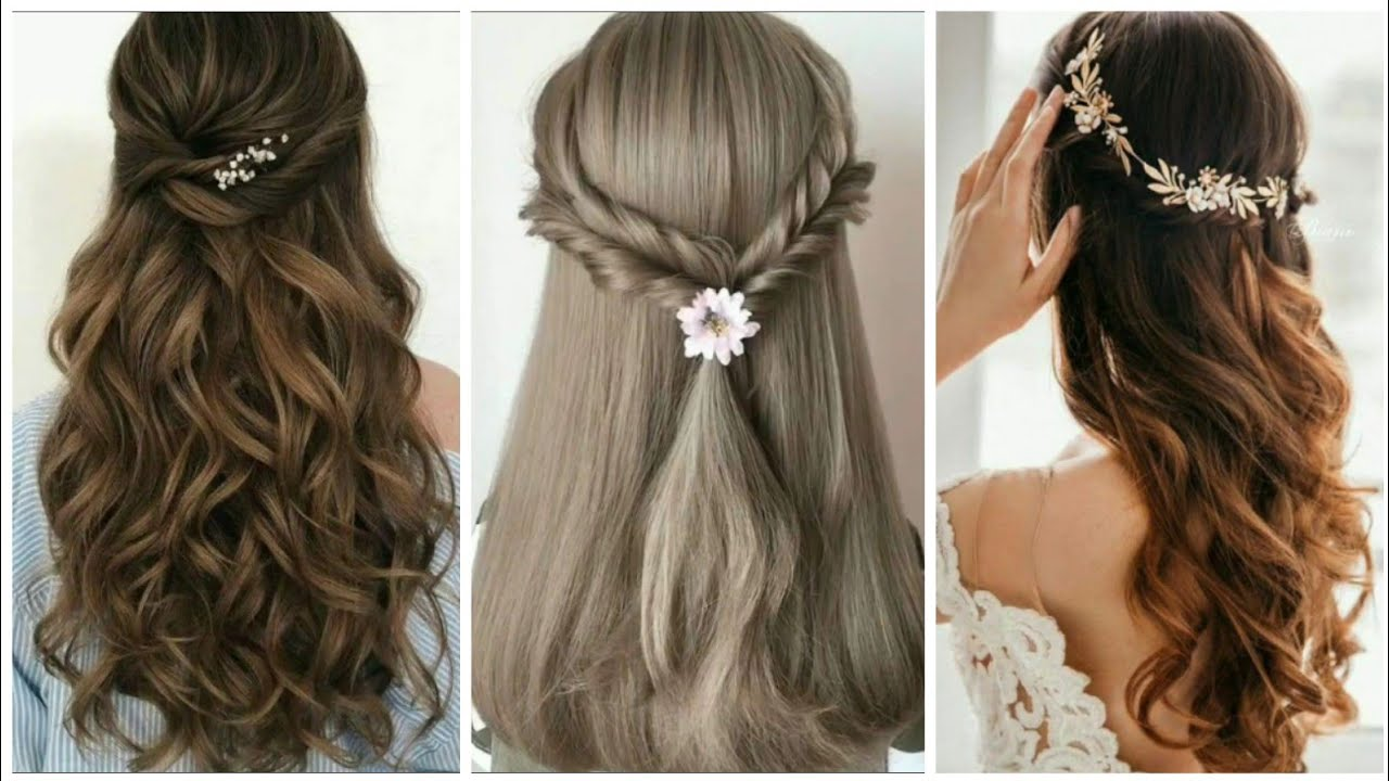 Latest Hairstyles 2020 For Long Hair Party Hairstyles Wedding Hairstyles Girls Hairstyles Youtube