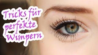 Lange Wimpern: Tipps für mehr Wimpern-Schwung und Volumen // By GossipGold