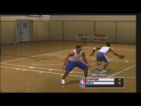 NBA Live 2003 ONE ON ONE Scottie Pippen vs Grant Hill
