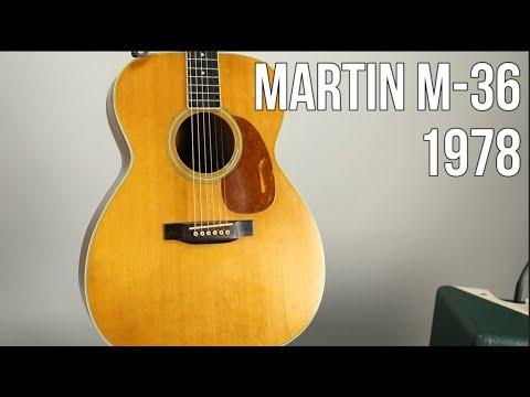 Martin M-36 - Acoustic Guitar 1978 (Demo)