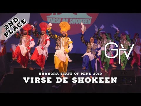 Virse De Shokeen – Second Place – Bhangra State of Mind 2019
