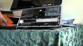 How to Dissassemble a HP touchsmart IQ770