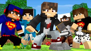 Minecraft: MEGA SKYWARS - TIME COM INSCRITOS! - ‹ JUAUM ›