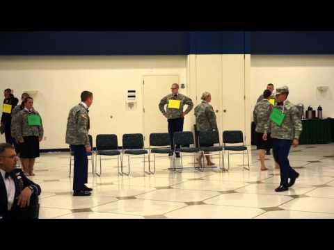 University of North Dakota Army ROTC Military Ball 2014 Class Skits