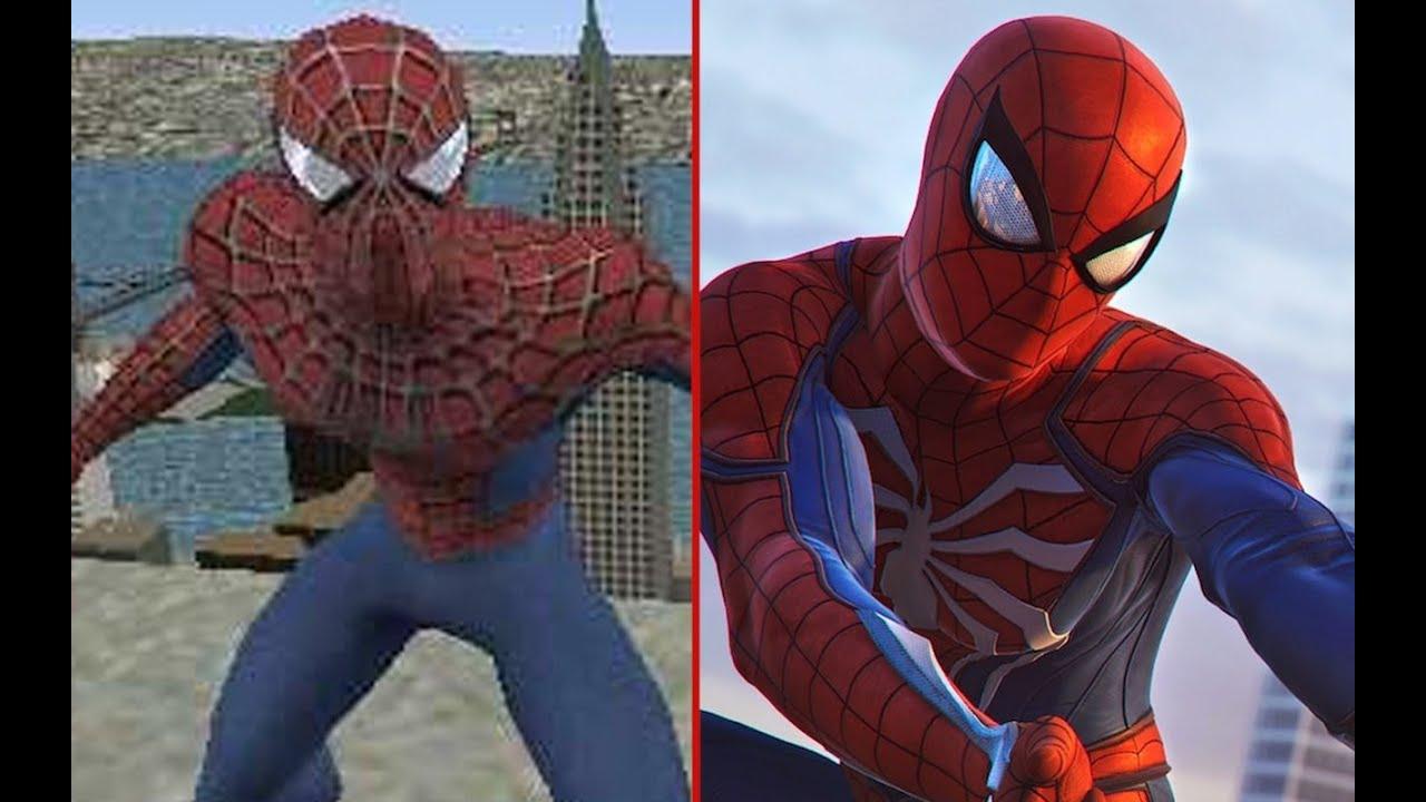 spider-man 2 (2004) vs. marvel's spider-man (2018) - youtube