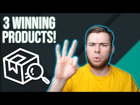 3 INSANE Winning Products for Shopify Dropshipping in 2020 | Sell These NOW! thumbnail