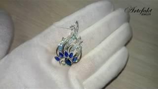Обзор серебряной броши Artefakt Jewelry арт 946