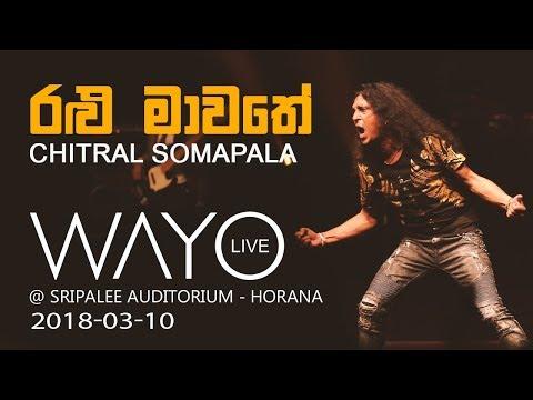 WAYO LIVE - Ralu Mawathe රළු මාවතේ by Chitral Somapala