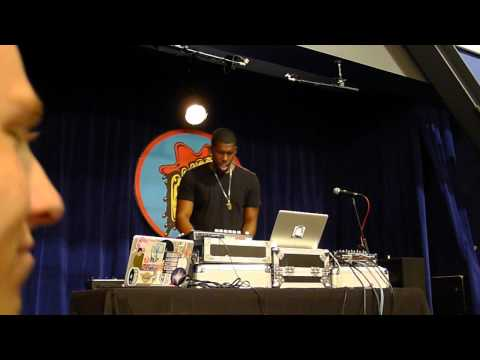 Flying Lotus DJ Set @ Amoeba 10-1-2012 Pt. 1