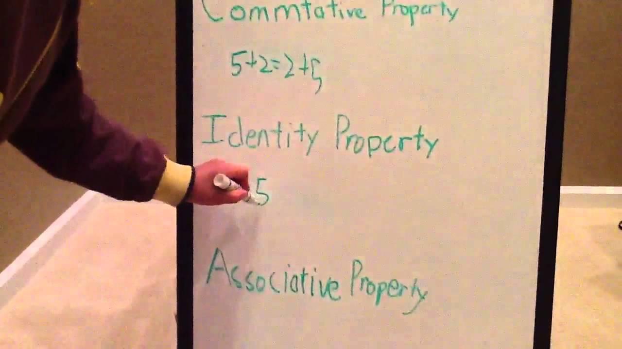 Property of Addition: Commutative property, Associative property ...