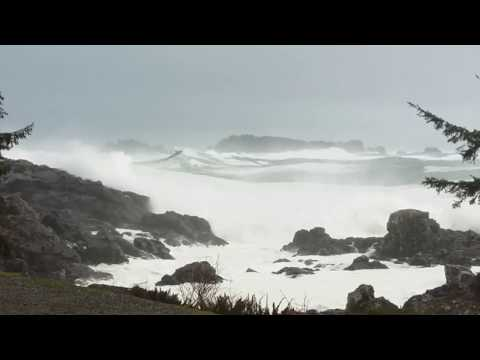 Ucluelet - Wild West Coast Lighthouse Storm January 18, 2018 [2]