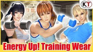 『DEAD OR ALIVE 6』DLC「香汗淋漓!訓練服」介紹