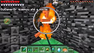 Minecraft PE Batalha de Mobs vs Players: Batalha contra Esqueleto