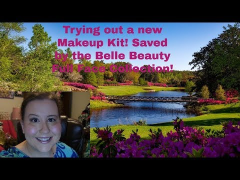 Trying Out A New Makeup Kit! Saved By The Belle Beauty Full Face Collection!