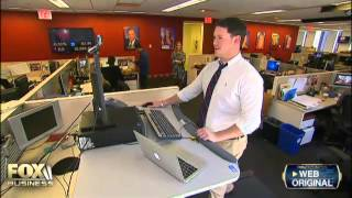 We got a treadmill desk… here's what happened