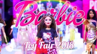Toy Fair 2018: BARBIE | ALL NEW Fashion Packs | Made to Move | Fashionistas & Much More