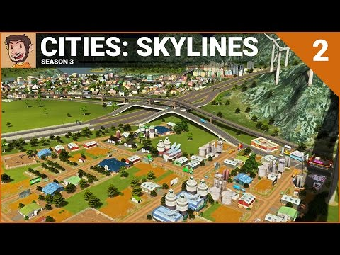 Let's Play Cities: Skylines - Part 2 (Season 3)