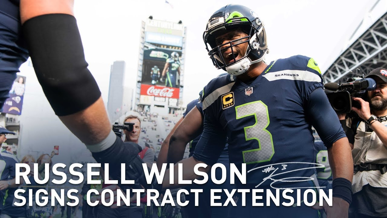 Russell Wilson Signs Contract Extension