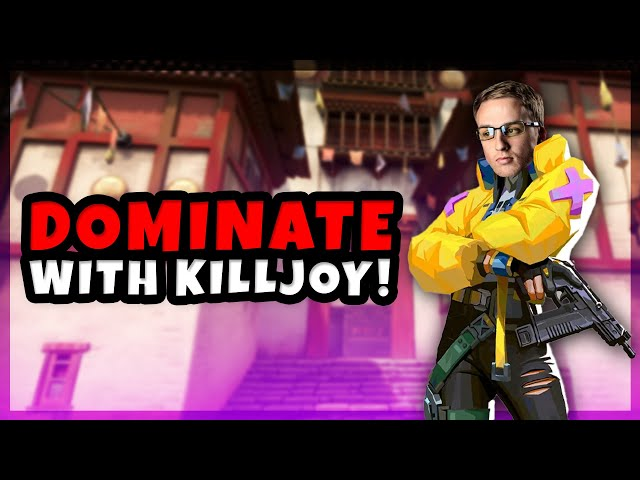 HOW TO DOMINATE WITH KILLJOY IN VALORANT! ft. TENZ