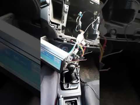 Подключение мультируля к китайской магнитоле Podofo 7010b  на лансере 10