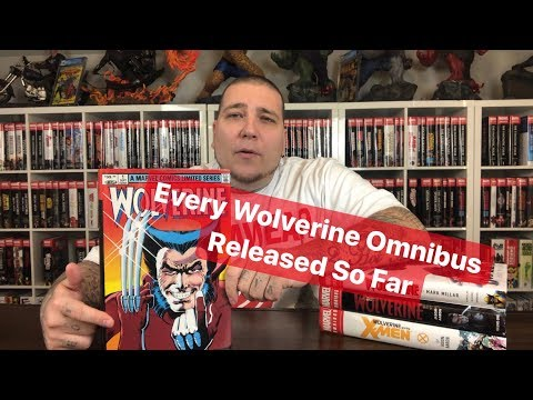 Every Wolverine Omnibus Released So Far