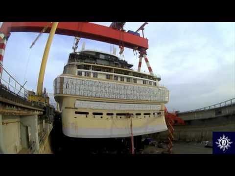 MSC Meraviglia è quasi pronta a salpare