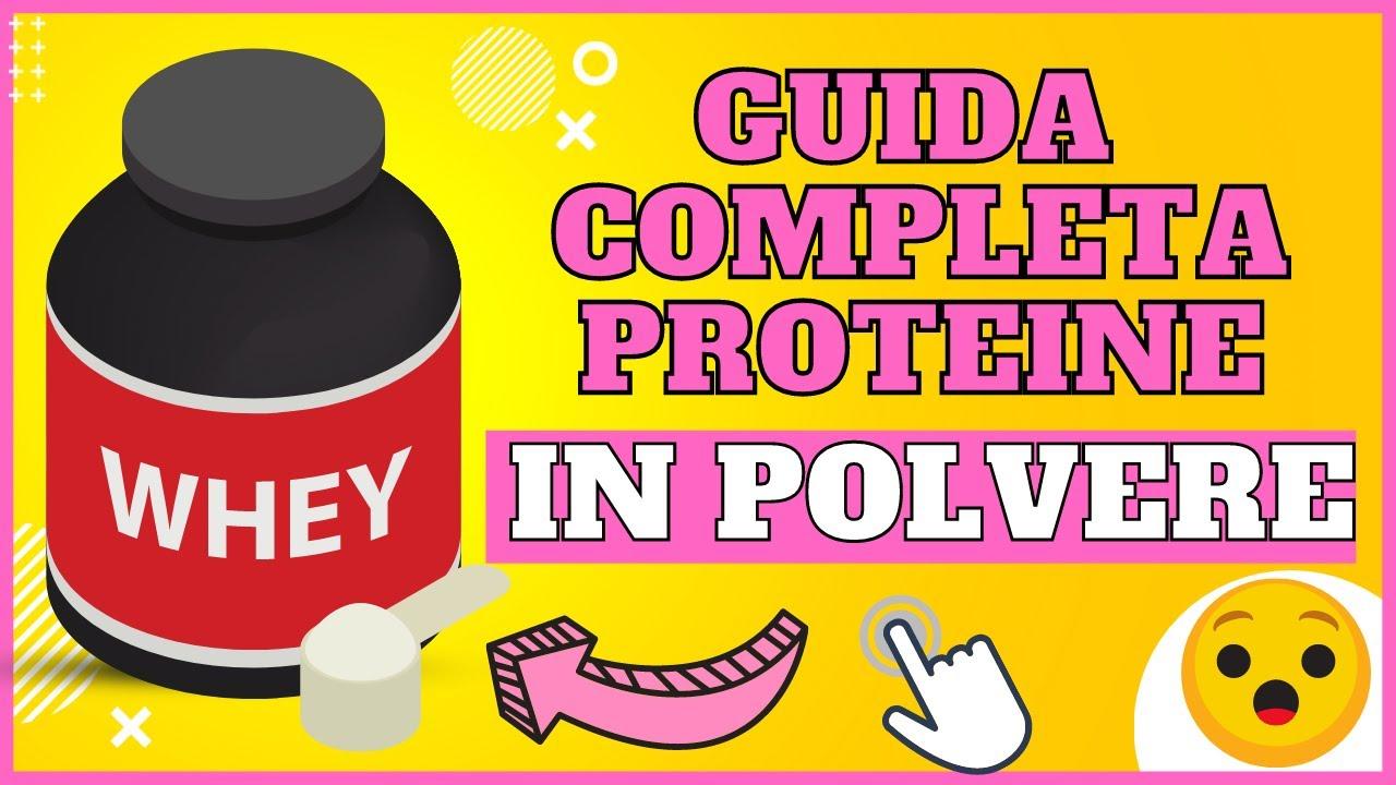 Guida completa a tutte le proteine in polvere emilfitness youtube