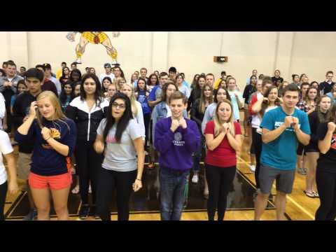 2015 - Adams High School (MI) - Kick-Off Program Dance Mash-Up - Full Version