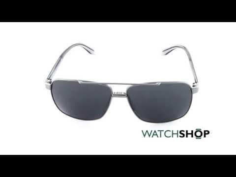 996ad3c3bb Versace Men s VE2174 Sunglasses (VE2174-100187-59) - YouTube