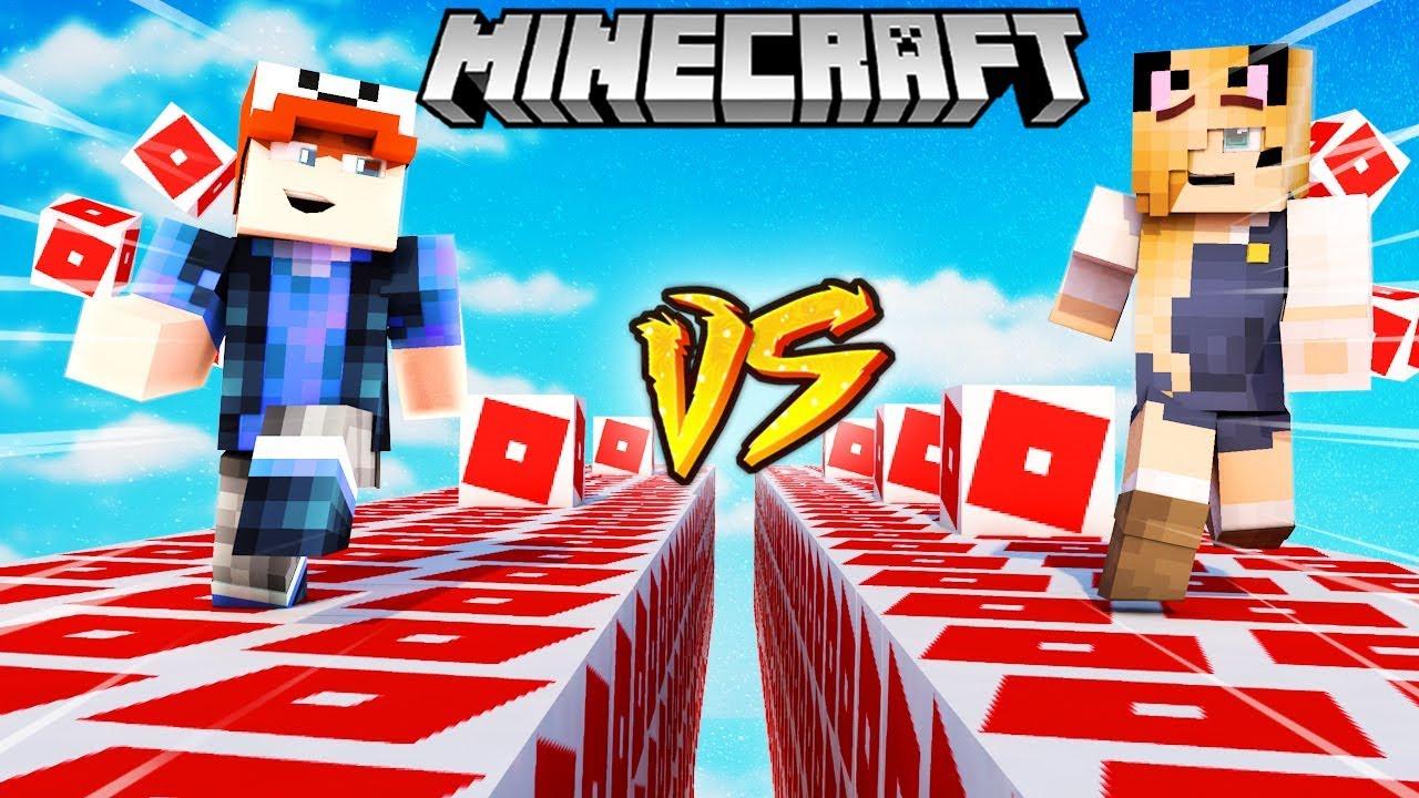 Szalony Wyscig Roblox Lucky Blocki Minecraft Roblox Lucky