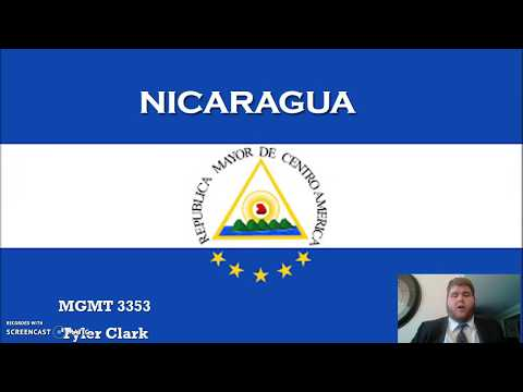 Tyler Clark International Management group presentation (Nicaragua)