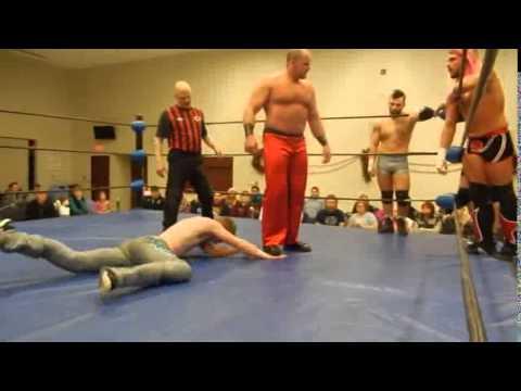 PWA Christmas Slam 10-Man Tag Main Event - PWA Edmonton November 2014