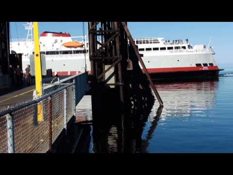 MV Coho - Black Ball Ferry Line docking in Port Angeles